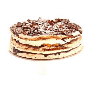 Cake Apricot hazelnut meringue torte – 30 cm (gluten free – contains nuts)