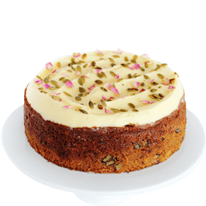 Cake Carrot, pineapple & walnut (contains nuts)