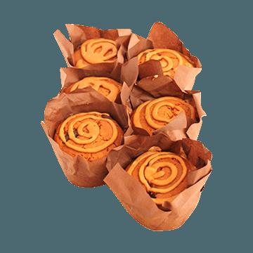 Coffee & Choc Chunk Coffee glaze Muffin
