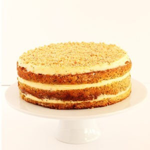 Cake Orange & Poppy Seed (contains nuts)